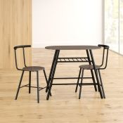 Charisse Dining Set with 2 Chairs - RRP £117.99