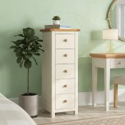 Faucher 5 Drawer Chest of Drawers - RRP £182.85