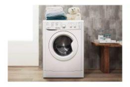Indesit IWC81252 8KG 1200 Spin Washing Machine - White - ARGOS RRP £219.99