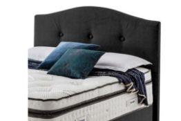 Carpet Right Ex-Display 6ft Silentnight Fulham Floor Standing Headboard Midnight  RRP £499 