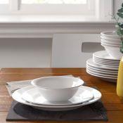 Duane 18 Piece Melamine Dinnerware Set, Service for 6 - RRP £28.99