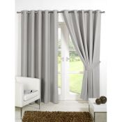 Saucier Eyelet Blackout Thermal Curtains - RRP £21.99