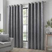 Dossett Eyelet Room Darkening Curtains - RRP £68.00