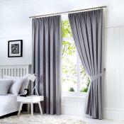 Coleraine Pencil Pleat Blackout Thermal Curtains - RRP £75.00