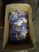 BOX OF 23 SWIMMING COSTUMES (FLORAL DESIGNS/VAR SIZES)