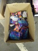 BOX OF 20 SWIMMING COSTUMES (VAR DESIGNS & COLOURS)