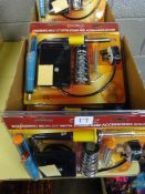 BOX OF 6 SOLDERING IRON KITS WITH STANDS