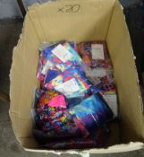 BOX OF 20 SWIMMING COSTUMES (VARIOUS SIZES & DESIGNS)