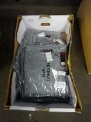 BOX OF 10 SCATTERED STAR OVERSIZED TOPS (GREY M/L)