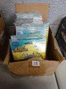 BOX OF 100 DISNEY HENRY HUGGLEMONSTER BALLOONS