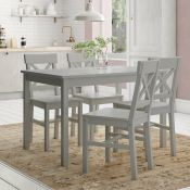 Lars Dining Set with 4 Chairs - RRP £309.99