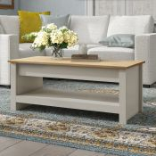 Caddis Coffee Table with Storage - RRP £103.99