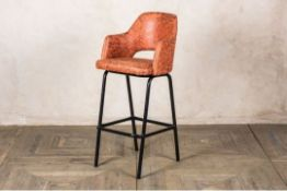 Lincoln Upholstered Seat Bar Stools - RRP £ 105.00