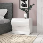 Colbie 2 Drawer Bedside Table RRP - £159.99