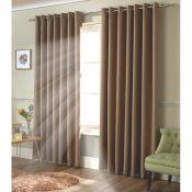 Strome Eyelet Room Darkening Thermal Curtains - RRP £53.99