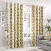 Charlaine Eyelet Room Darkening Curtains - RRP £37.50