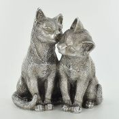 Ranshaw Pair of Cats Sculpture - RRP £23.99