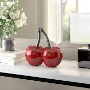 Art Cherries Decoration Peralta Sculpture - £30.99