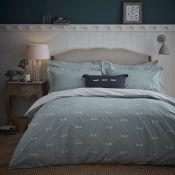 Dragonfly 200 TC 100% Cotton Duvet Cover Set - RRP £56.99