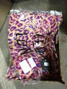 BOX 7 DOUBLE V NECK LONG DRESSES - SIZES S/M
