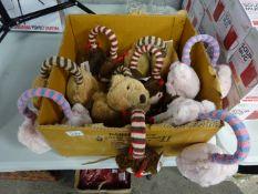 BOX 10 CHILDRENS ADJUSTABLE EARMUFFS