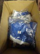 BOX 10 BLUE & WHITE SWIM SHORTS - VARIOUS SIZES