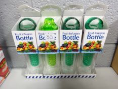 4 FRUIT INFUSION WATER BOTTLES