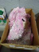 BOX 10 DITSEY FLORAL TYE DYE SMOCKS - PINK
