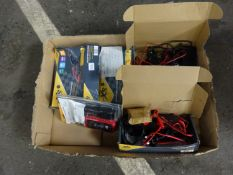 X 4 CAR BATTERY CHARGERS & VEHICLE FAULT CODE READER