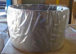 Angelica 40cm Linen Drum Lamp Shade - RRP £60.99
