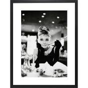 Audrey Hepburn Framed Photographic Print - RRP £113.99