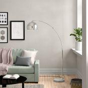 Bonita 174cm Arched Floor Lamp - RRP £108.99