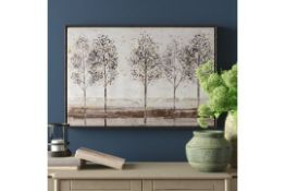 Wayfair Avenue - Floater Frame Painting Print on Canvas - RRP £110.