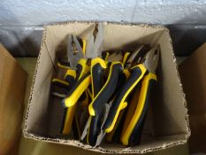 BOX OF 10 PLIERS