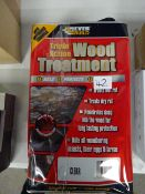 TIN OF TRIPLE ACTION WOOD TREATMENT