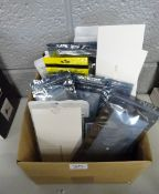 BOX OF NEW IPHONE CASES & WATCH BANDS