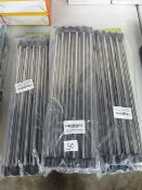 10 PACKS OF S/S SINK DRAINERS