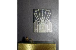 Gold Chrysler Canvas - RRP £25