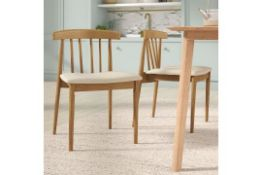 Apollonia Solid Wood Dining Chair - RRP £219.99