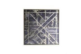 Arthouse Marble Geo Gold Capped Canvas - RRP £35