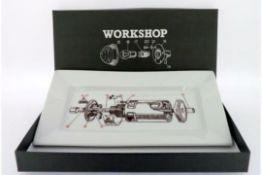 Workshop Useful Porcelain Tray - RRP £10.99.