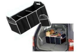 New 3 Compartment Car Boot Organiser