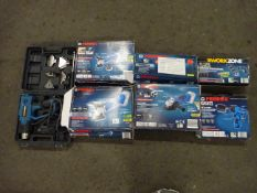CORDLESS SCREWDRIVER, DRILL, X2 MULTI FUNCTION CORDLESS TOOLS, ANGLE GRINDER ETC