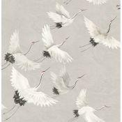 Windsong Crane 10m x 52cm Wallpaper Roll - RRP £18.99
