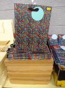 40 CHEVRON MED GIFT BAGS