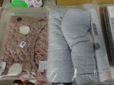 PINK BABY SLEEPING BAG & BABY PLAY MAT