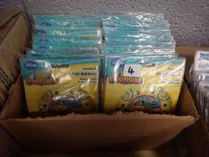 BOX OF 100 DISNEY HENRY HUGGLE MONSTER FOIL BALLOONS
