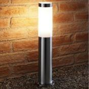 x2 Furey Stainless Steel 45'' H Bollards - RRP £39.99 Per Light