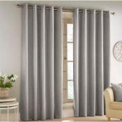 Savoy Eyelet Blackout Thermal Single Curtain - RRP £63.99