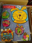 X24 40 PAGE NEW SCRAP BOOKS